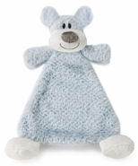 Nat & Jules Damien Dog Rattle Cozy Baby Blankie