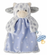 Nat & Jules Miggy Cow Baby Blankie Pacifier Holder