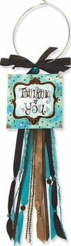 Thinking of You Doorknob Blessing Card Holder