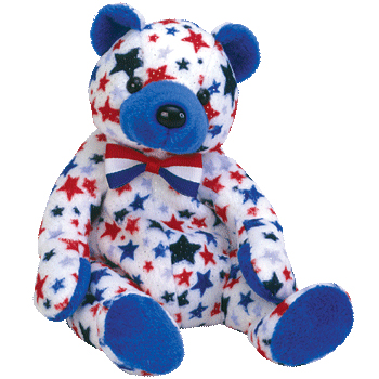 Ty Beanie Babies Blue The Bear Internet Exclusive