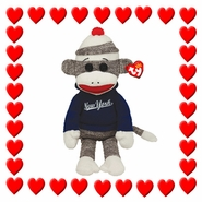 TY Beanie Babies Sock Monkeys