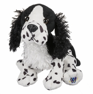 Webkinz Black and White Springer Spaniel Dog