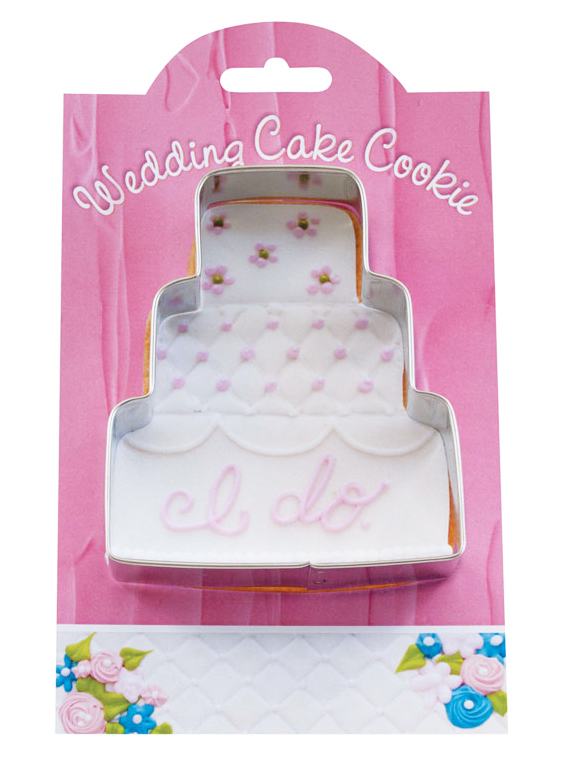 Charming Cookie Cutters   Wedding Cake