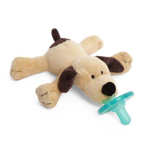 Dog Uses Toy As Pacifier