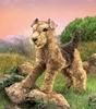 Folkmanis Puppet <br>Airedale Terrier