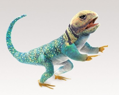 Folkmanis Puppet <br>Collared Lizard