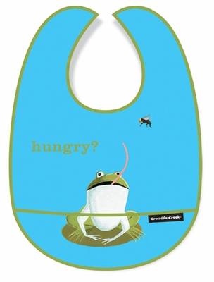 Crocodile Creek Bib <br>Hungry Frog