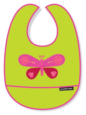 Crocodile Creek <br>Butterfly Bib
