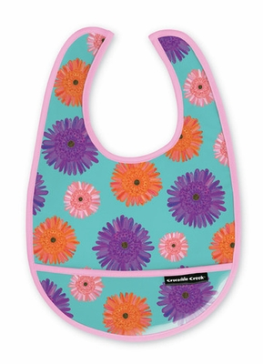 Crocodile Creek <br>Daisies Bib