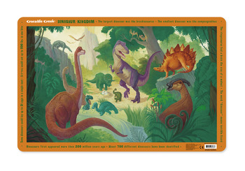 Crocodile Creek <br>Dinosaur Kingdom <br>Placemat