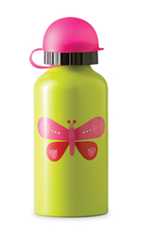 Crocodile Creek <br>Drinking Bottle <br>Pink Butterfly