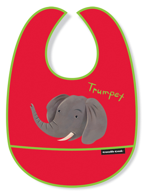 Crocodile Creek <br>Elephant Bib