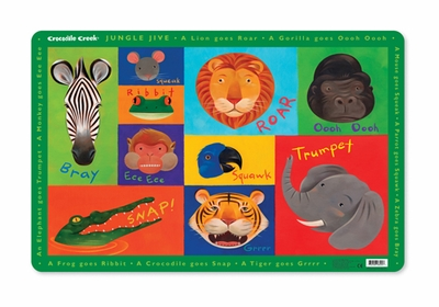 Crocodile Creek <br>Jungle Jive <br>Placemat