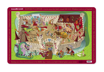 Crocodile Creek <br>Knight's Castle <br>Placemat