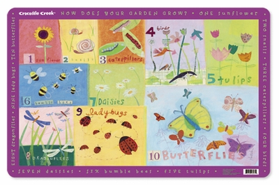 Crocodile Creek <br>Placemat <br>Garden