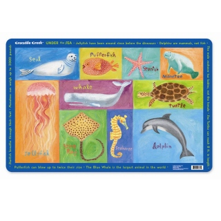 Crocodile Creek <br>Placemat <br>Under the Sea