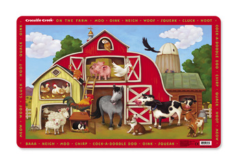 Crocodile Creek <br>Placemats <br>On the Farm