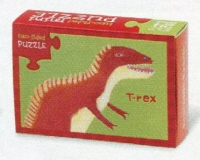 Crocodile Creek <br>Two-Sided Puzzle <br>T-Rex/Corythosaurus