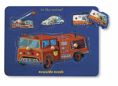 Crocodile Creek <br>Wood Puzzle <br>To The Rescue