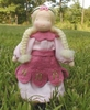 "Evi Doll <br>Spring Blossom Pink <br>4.5"" Waldorf Doll"