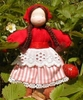 "Evi Doll <br>Summer Berry <br>5.5"" Waldorf Doll"