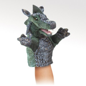 Folkmanis Puppet <br>Little Dragon