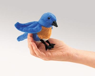Folkmanis Finger Puppet <br>Mini Bluebird