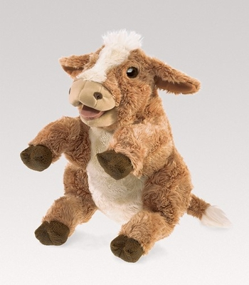 Folkmanis Puppet <br>Brown Cow