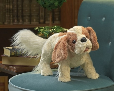 Folkmanis Puppet <br>Cavalier Charles Spaniel