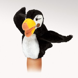 Folkmanis Puppet <br>Little Puffin