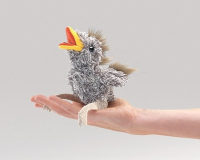 Folkmanis Finger Puppet <br>Mini Baby Bird