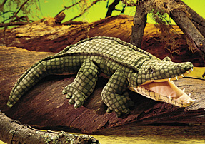 Folkmanis Puppet <br>Alligator