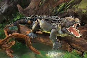 Folkmanis Puppet <br>American Alligator