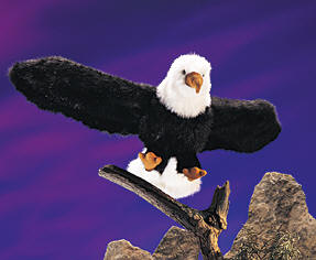 Folkmanis Puppet <br>Bald Eagle