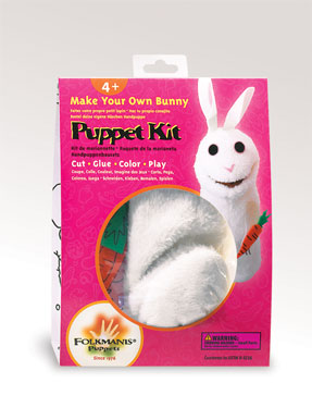 Folkmanis Puppet <br>Bunny Puppet Kit