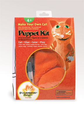 Folkmanis Puppet <br>Cat Puppet Kit