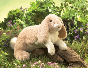 Folkmanis Puppet <br>Floppy Bunny Rabbit
