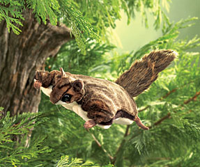 Folkmanis Puppet <br>Flying Squirrel