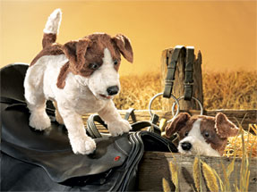 Folkmanis Puppet <br>Jack Russell Terrier