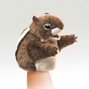 Folkmanis Puppet <br>Little Chipmunk