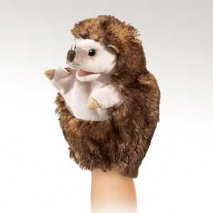 Folkmanis Puppet <br>Little Hedgehog