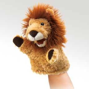 Folkmanis Puppet <br>Little Lion