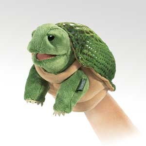 Folkmanis Puppet <br>Little Turtle