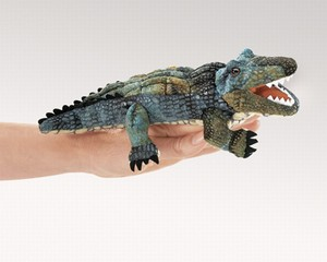 Folkmanis Puppet <br>Mini Alligator