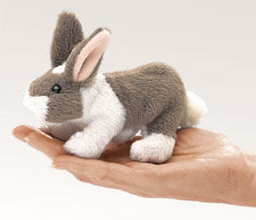 Folkmanis Puppet <br>Mini Bunny Rabbit