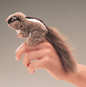 Folkmanis Puppet <br>Mini Chipmunk