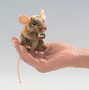 Folkmanis Puppet <br>Mini Field Mouse