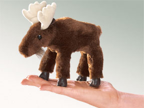 Folkmanis Puppet <br>Mini Moose