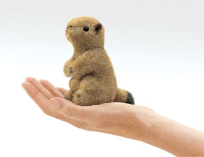 Folkmanis Puppet <br>Mini Prairie Dog