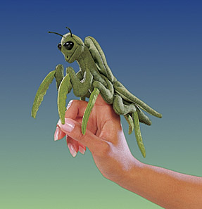 Folkmanis Puppet <br>Mini Praying Mantis